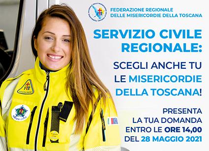 Servizio Civile Regionale – Bando Giovani 2021